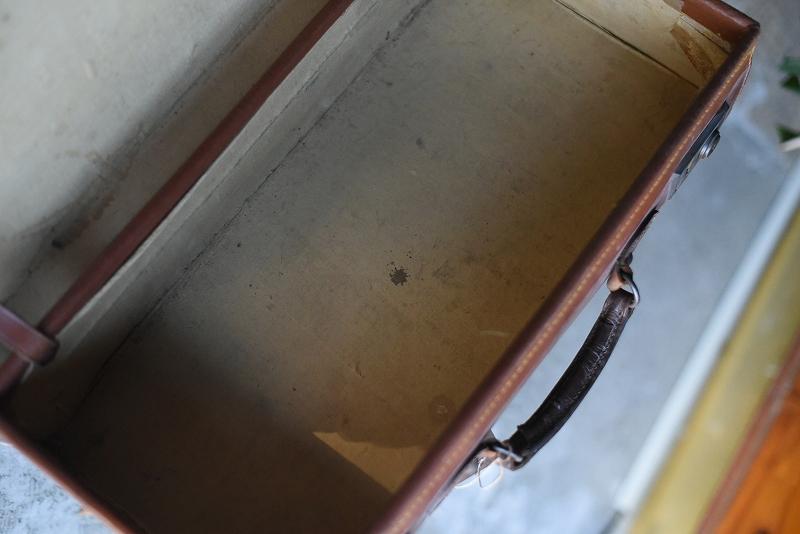 105138 ヴィンテージ 皮革 革製トランクケース  英国製