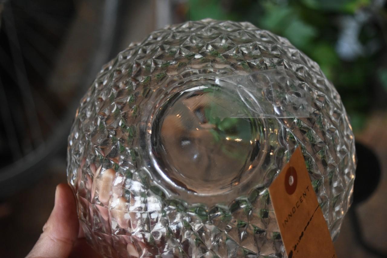 102486 ヴィンテージ 英国 ガラス ボール
