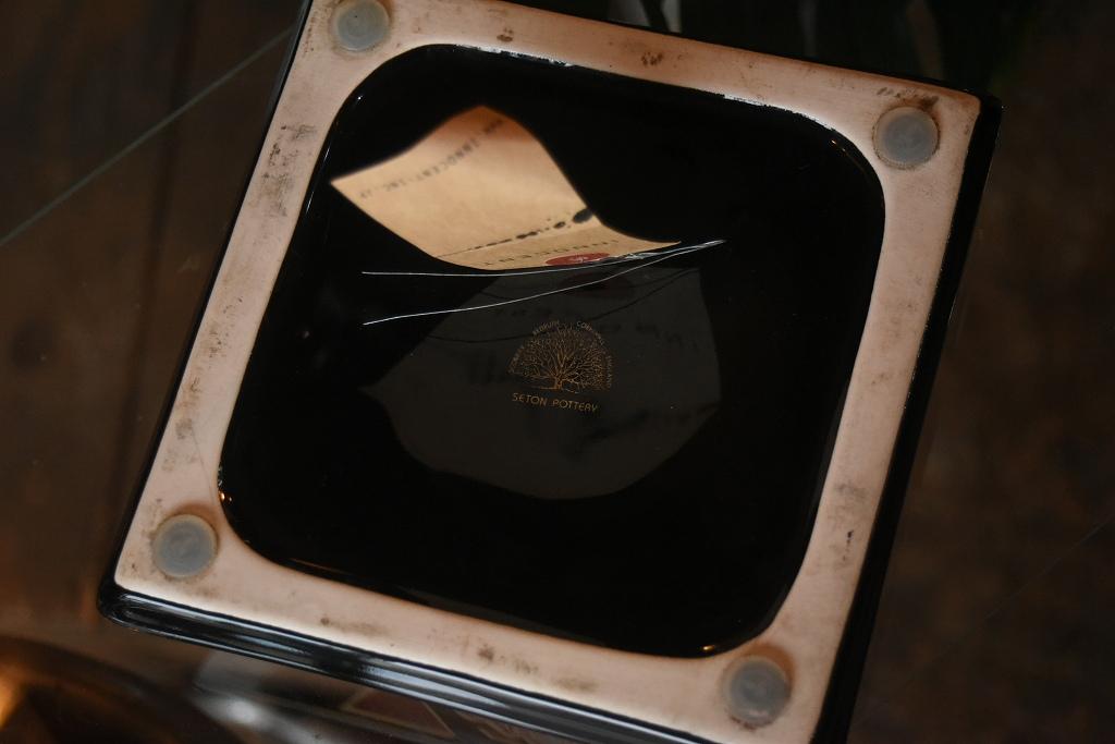 100803 アッシュトレイ 「BASS」 灰皿 SETON POTTEAY ENGLAND ENGLAND