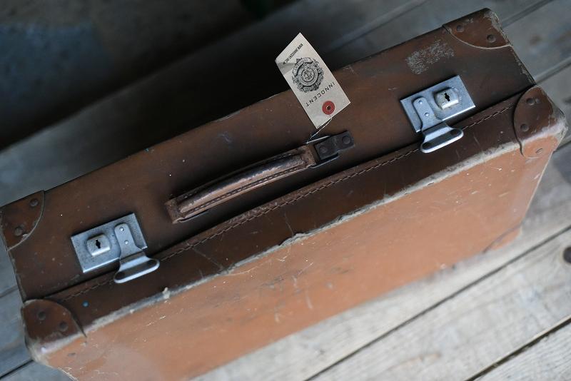 105112 ヴィンテージ トランクケース 革鞄 英国製