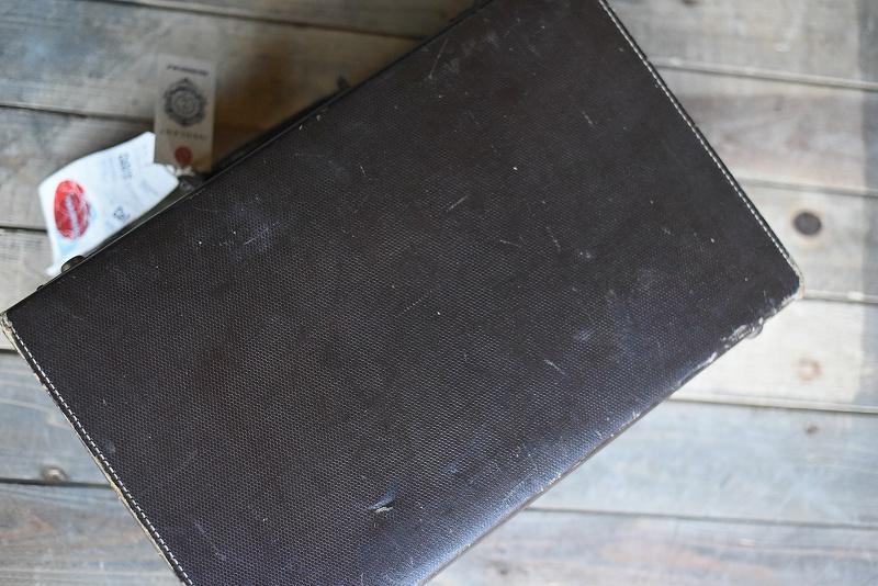 105116 ヴィンテージ トランクケース 革鞄 英国製