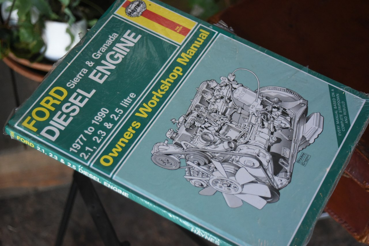 101901 洋書 フォードマニュアル 未開封 「Ford Diesel Engine Sierra Granada 1977 to 1990 Haynes Owners Workshop Manual」