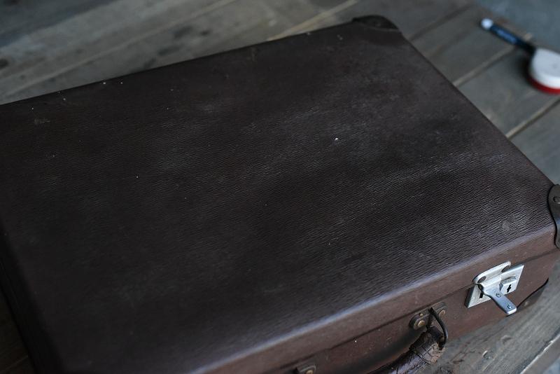105113 ヴィンテージ トランクケース 革鞄 英国製