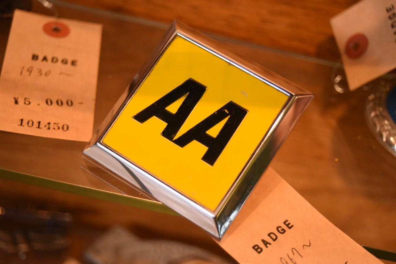 UK ヴィンテージ RAC カーバッチ 英国  101451