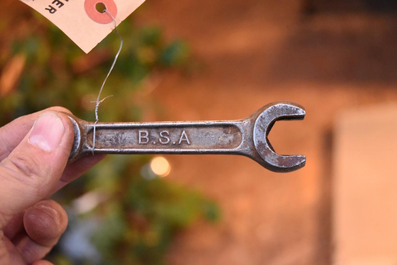 UK BSA ヴィンテージ ツール スパナ Birmingham Small Arms  英国 101150