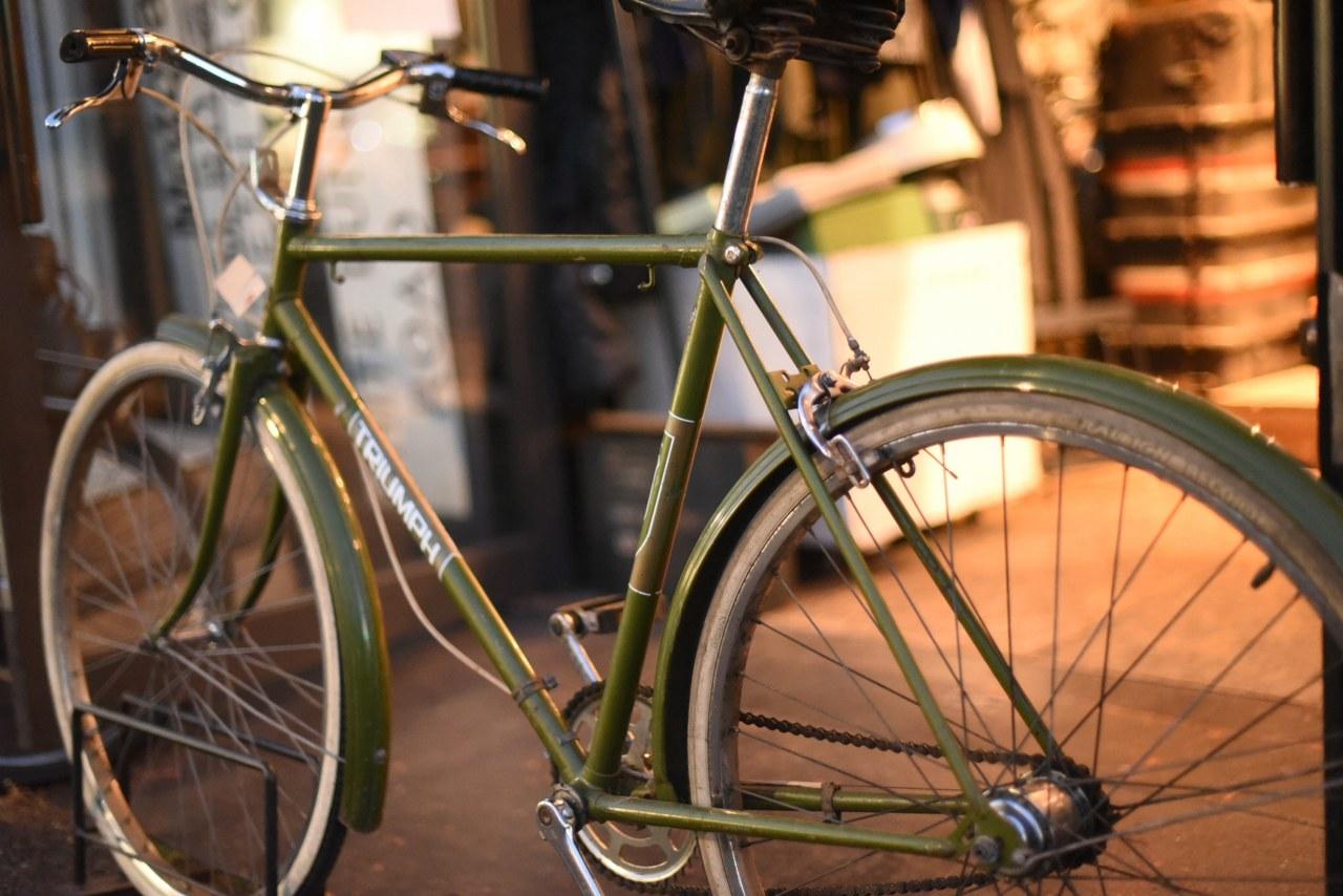 102615 ヴィンテージ 自転車 「TRIUMPH トライアンフ」 1980年製 MADE IN ENGLAND