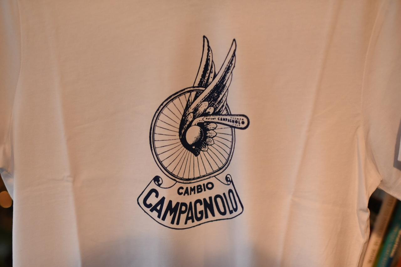 ホワイト M 国内未発売 カンパニョーロ  クラシック Tシャツ CAMPAGNOLO