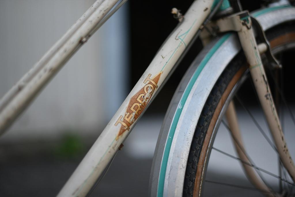 102795 ヴィンテージ 自転車  「DIJON TERROT」   フランス製 MADE IN FRANCE