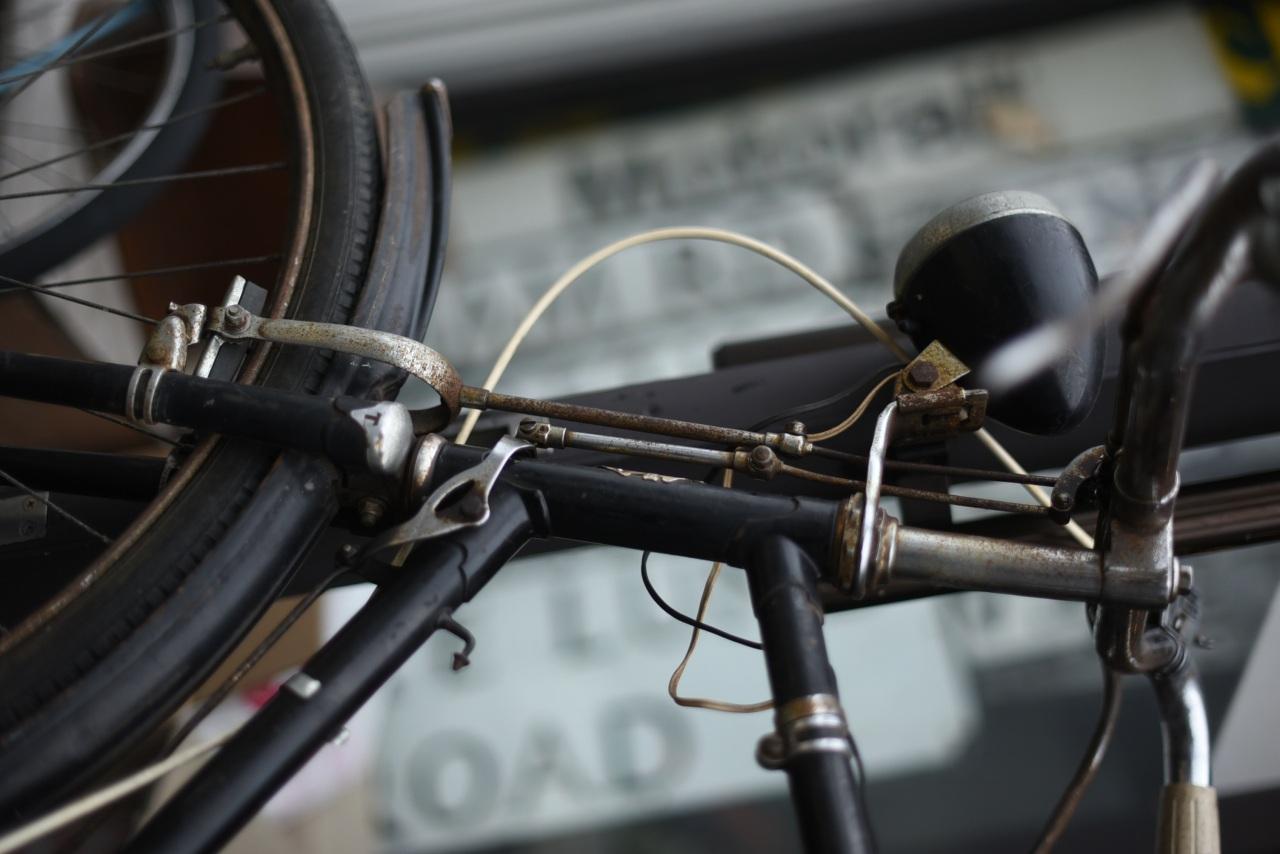 102111 ヴィンテージ 自転車 トライアンフ TRIUMPH  1958 イギリス製
