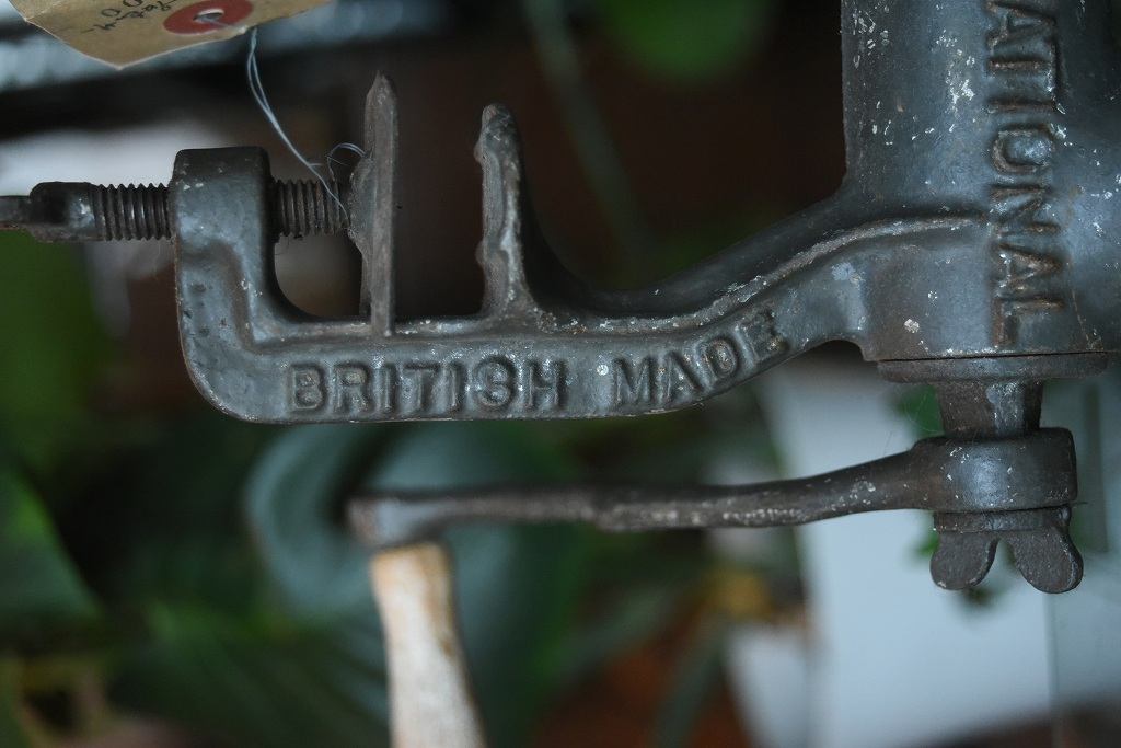 100840 ヴィンテージ 「NATIONAL」 ミートプロセッサー BRITISH MADE