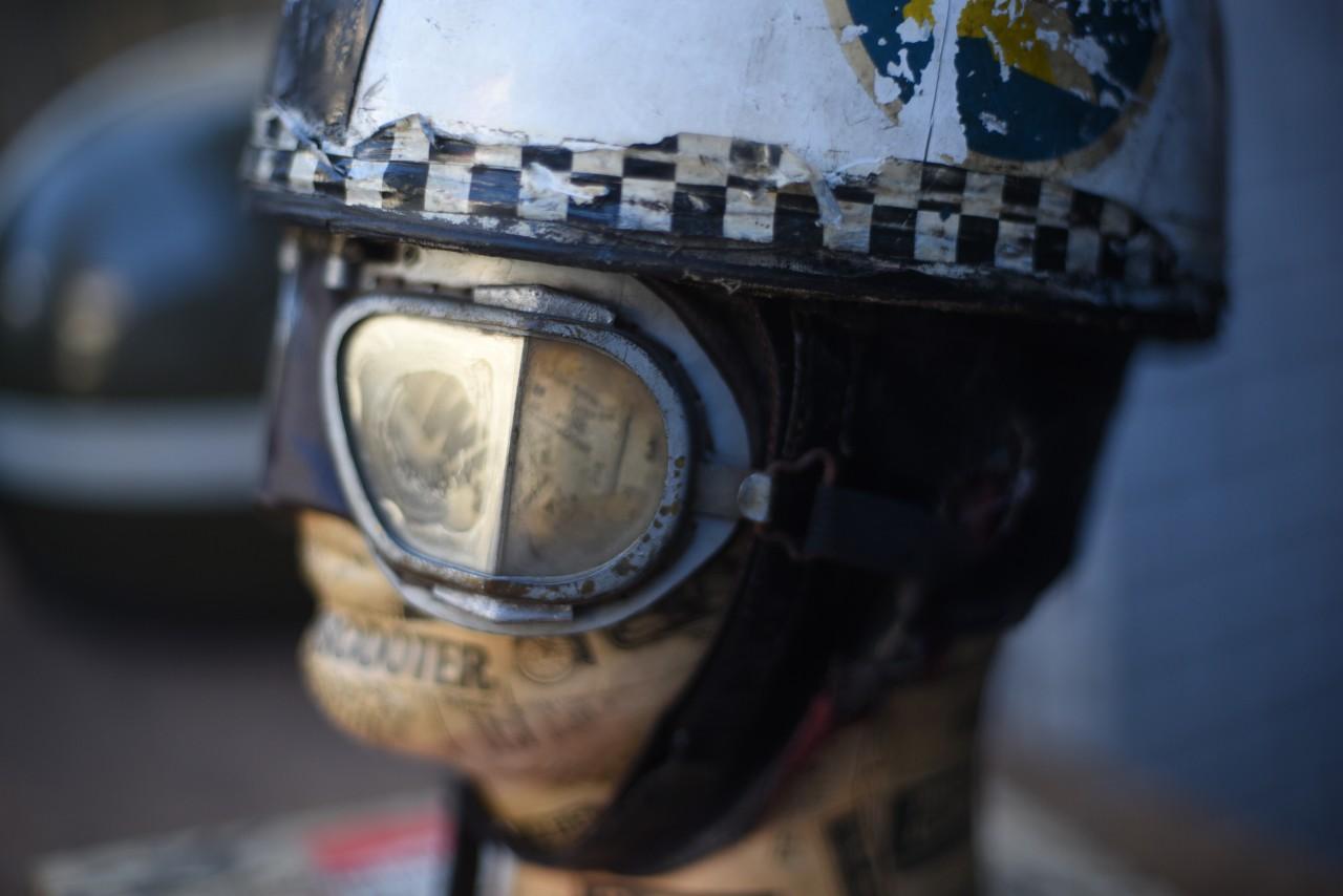 UK Made in ENGLAND エヴァーオーク EVER OAKヘルメット STADIUM (スタジアム)ゴーグル 英国マネキンセット 101080