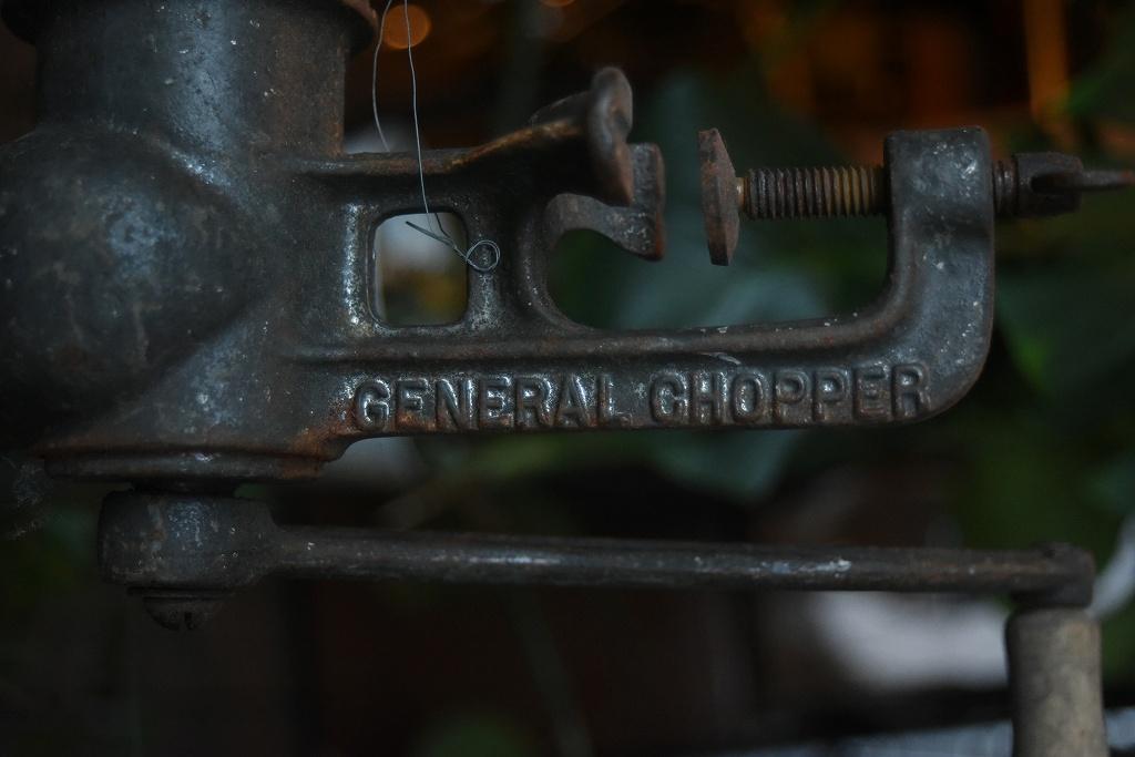 100836 ヴィンテージ 「GENERAL CHOPPER」 ミートプロセッサー MADE IN ENGLAND