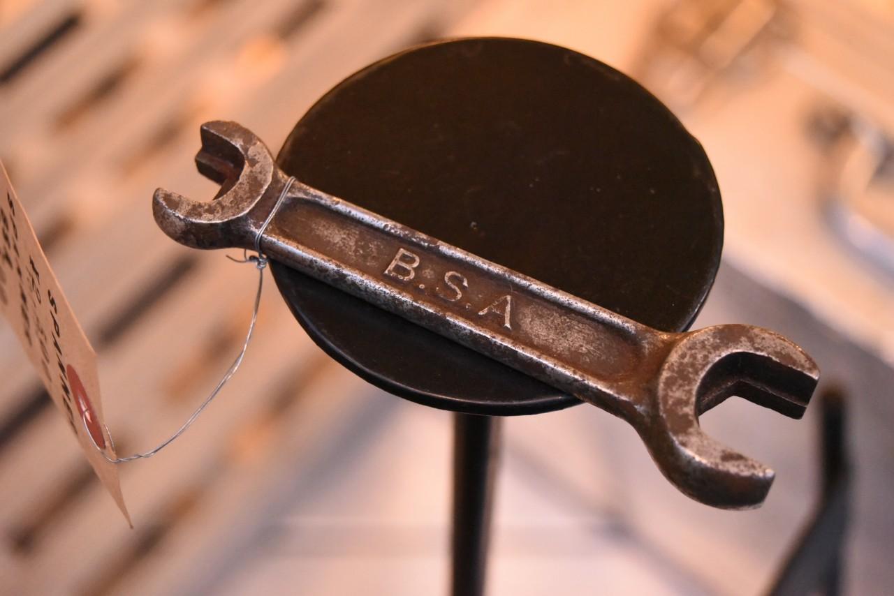 UK BSA ヴィンテージ ツール スパナ Birmingham Small Arms  英国 101134