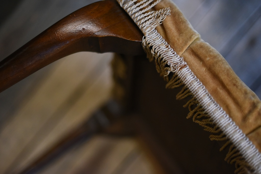 104650 ヴィンテージ 英国製 猫脚 椅子