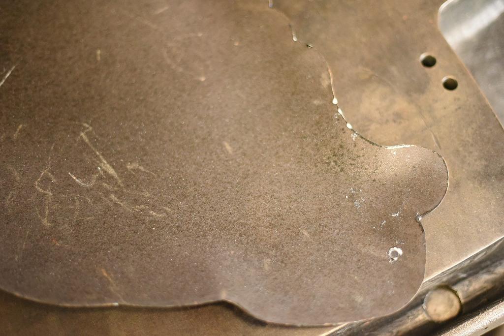 104810 ヴィンテージ 「MICHELIN ミシュラン」 ビバンダム(Bibendum)  琺瑯製サインプレート 看板