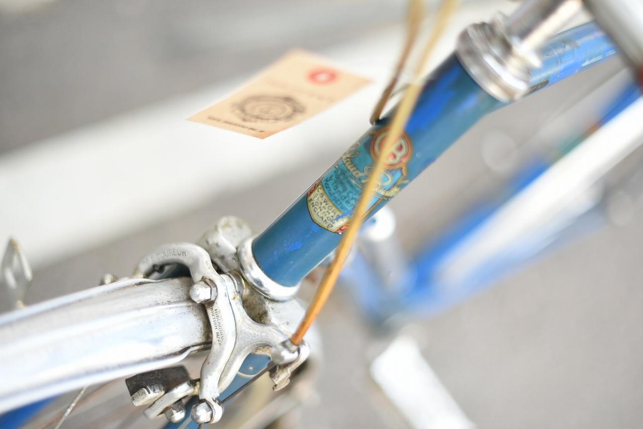 104947 ヴィンテージ 自転車  「Claud Butler」 クロードバトラー 「SUPER VELO MODEL」   英国製 MADE IN ENGLAND