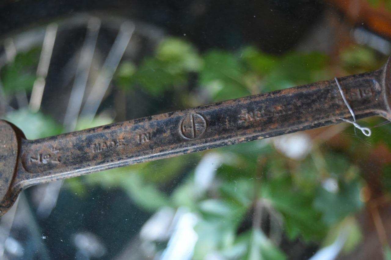 102687 UK ヴィンテージ スパナ ツール 英国