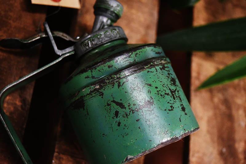 105327 ヴィンテージ 「WESCO」 MADE IN ENGLAND  オイル ポンプ 注入器 英国