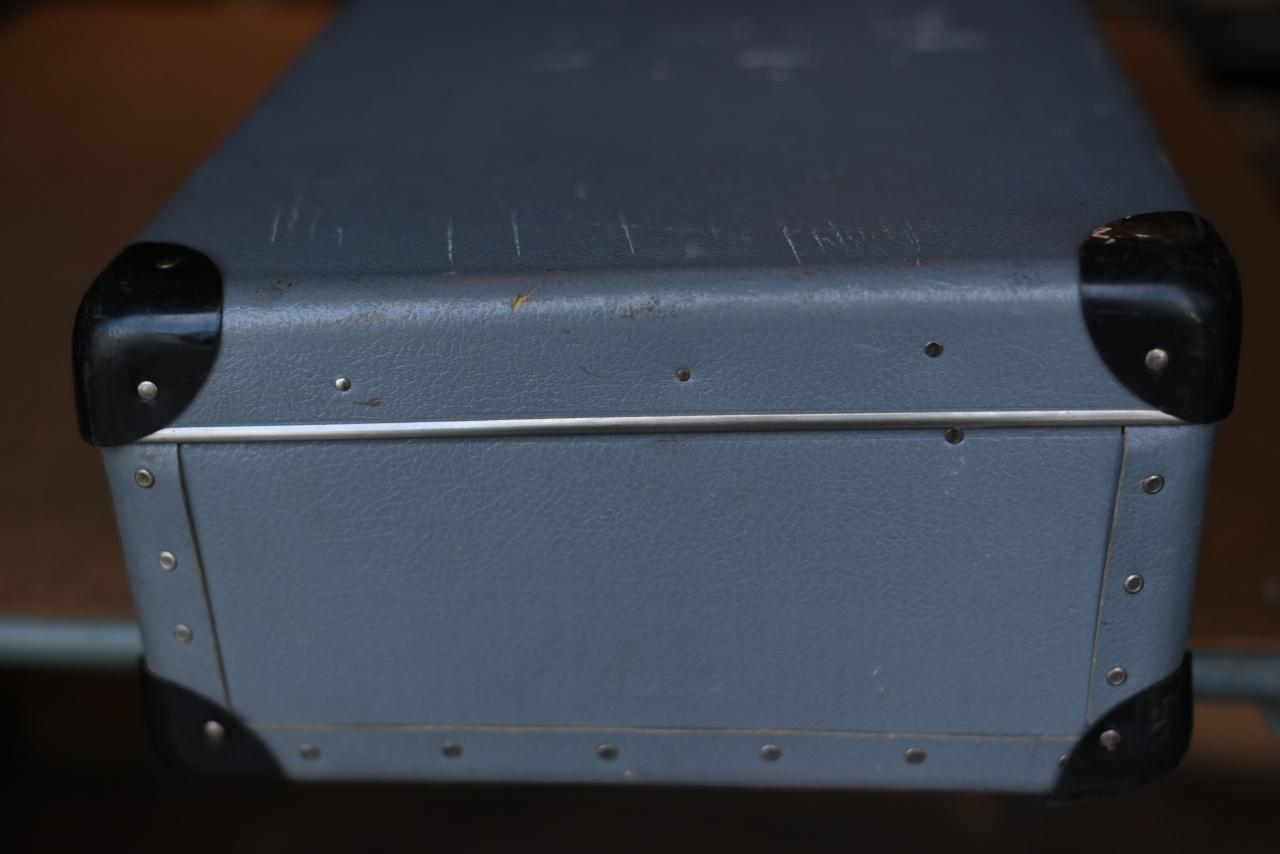 102723 UK ヴィンテージ トランクケース 革鞄