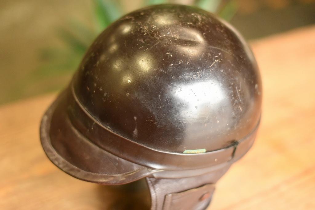 103793 「JOBI」 ヴィンテージ ハーフヘルメット お椀ヘルUK MADE in ENGLAND ヘルメット