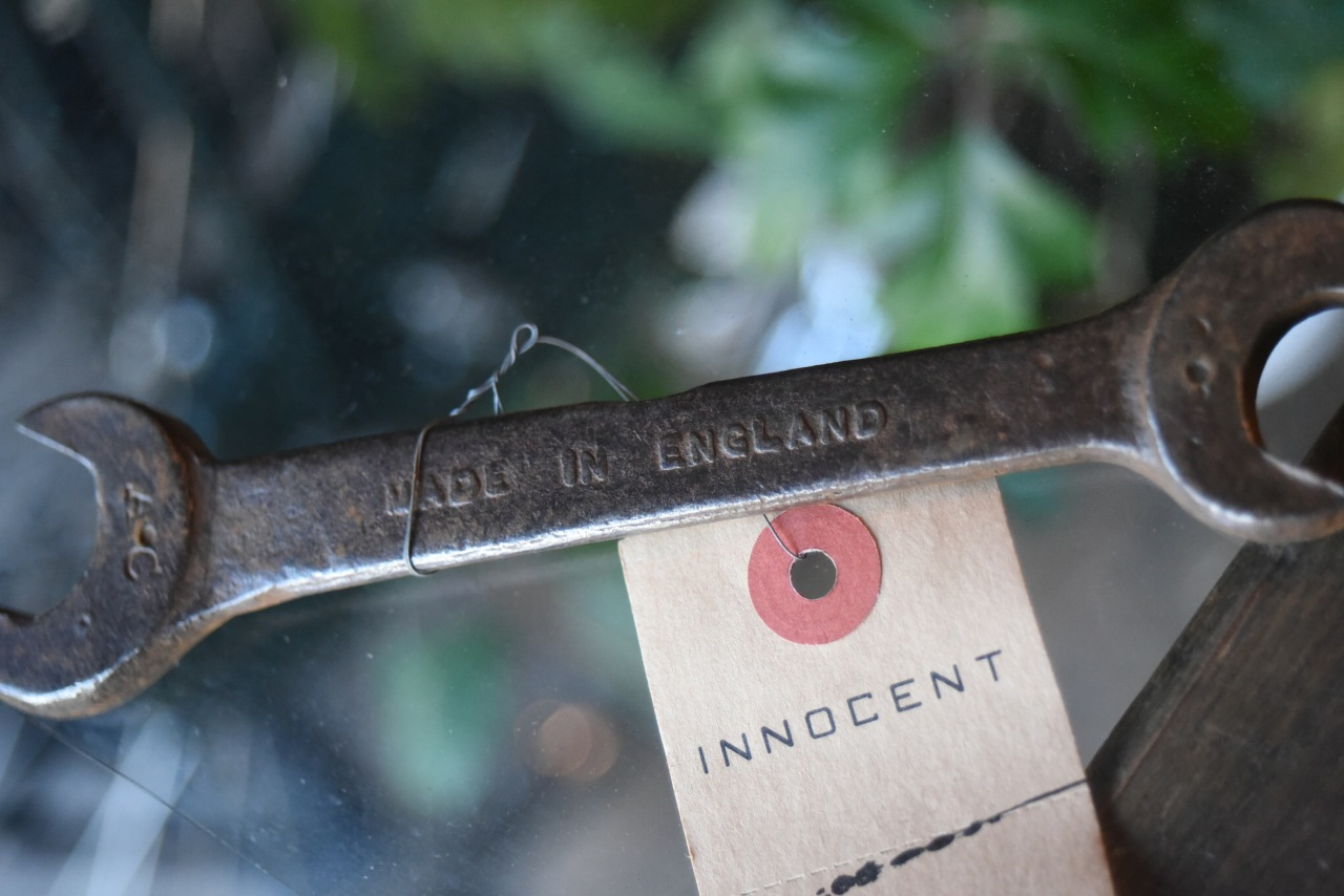 102751 UK ヴィンテージ スパナ ツール 英国