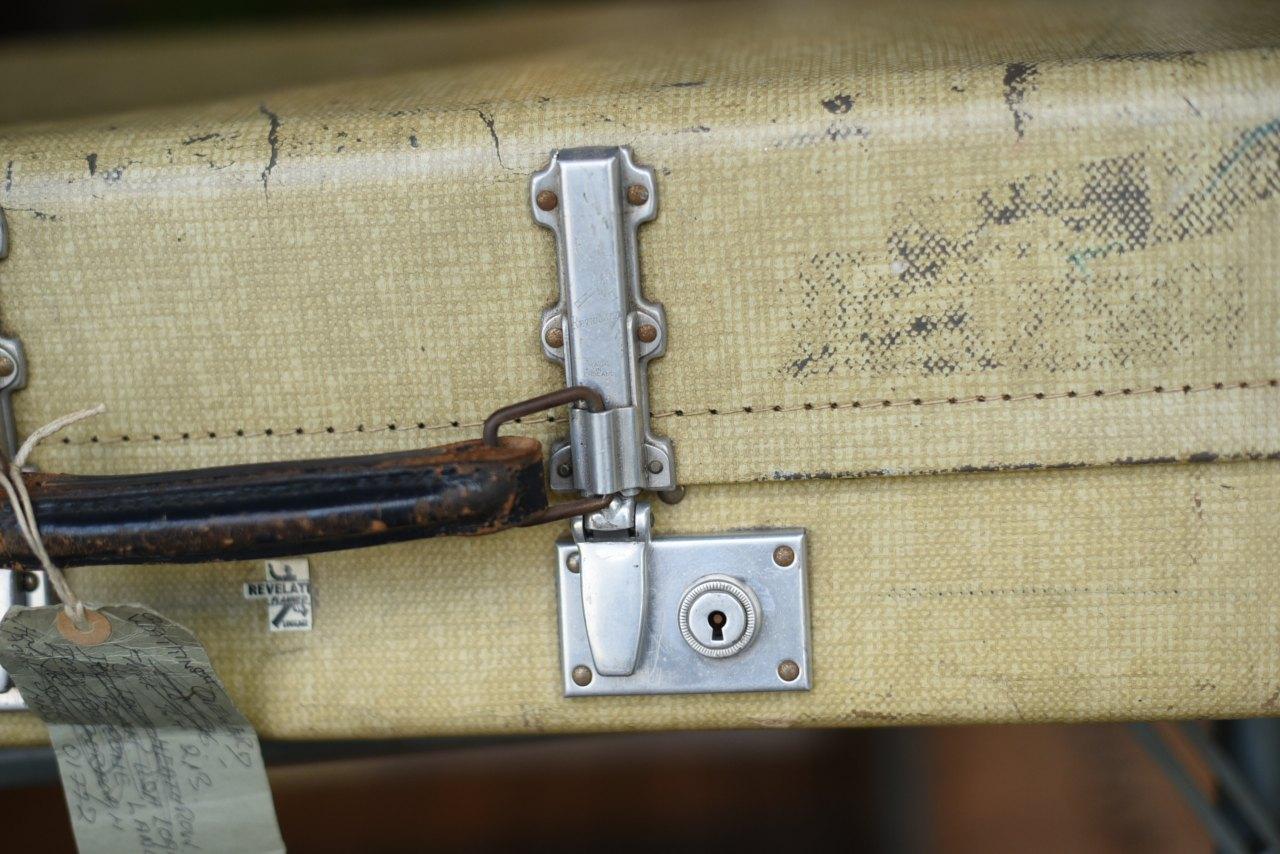 102724 UK ヴィンテージ トランクケース 革鞄
