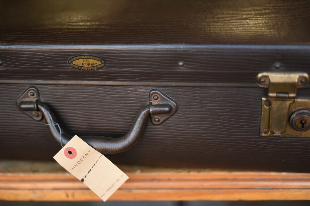 103687 ヴィンテージ トランクケース 革鞄 英国製