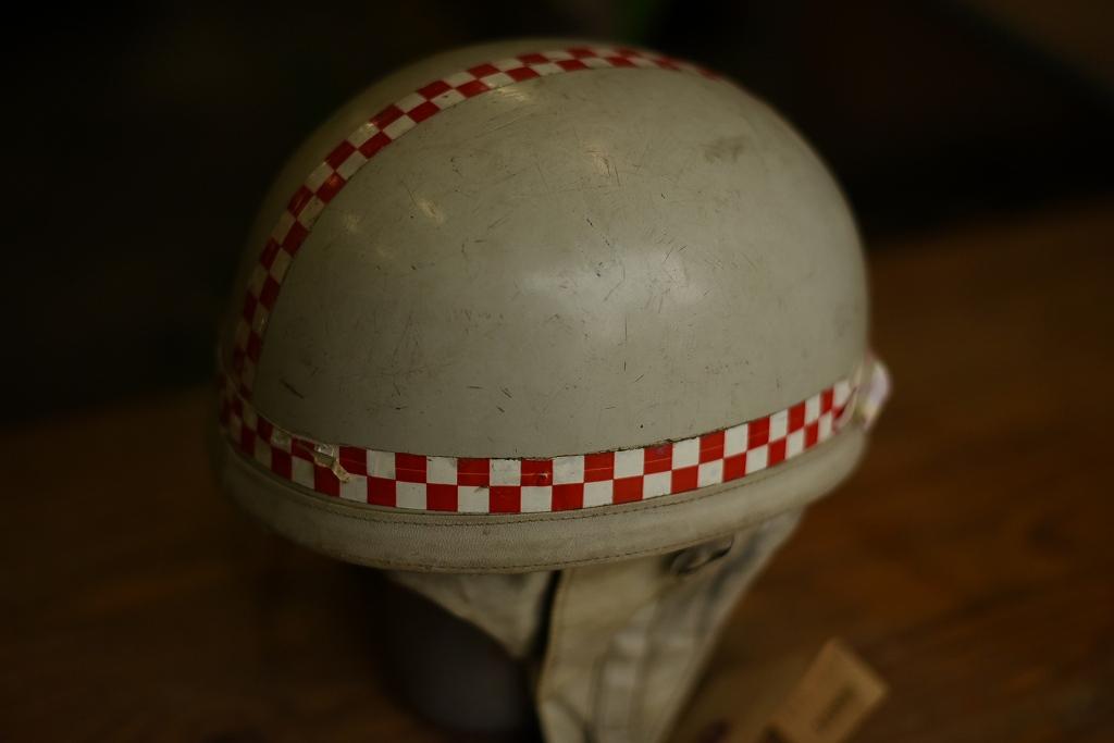 103800 「BAYARD」 ヴィンテージ ハーフヘルメット お椀ヘルUK フランス製 ヘルメット