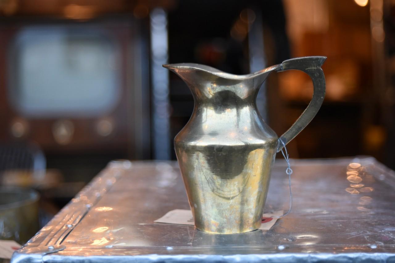 真鍮 ブラス ポット  101181