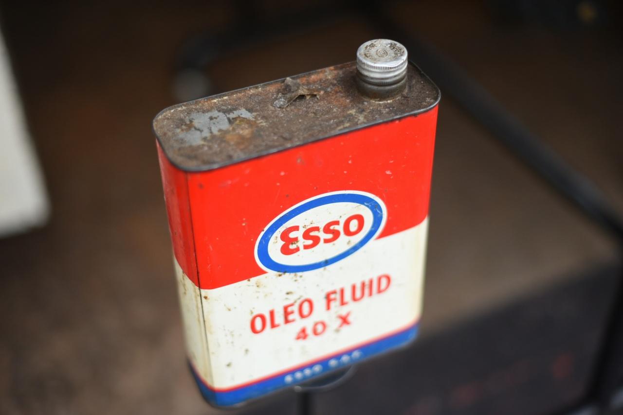 ESSO  OLEL FLUID 40 Xオイル缶 102002