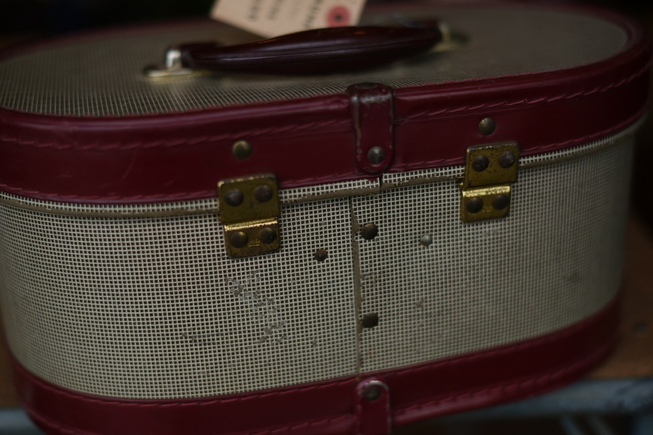 102742 UK ヴィンテージ トランクケース 革鞄