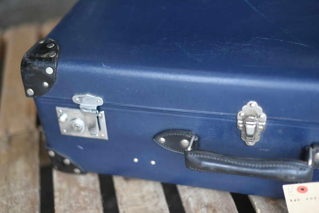 105691 UK ヴィンテージ 英国 グローブ トロッター 「GLOBE TROTTER」 MADE IN ENGLAND 刻印