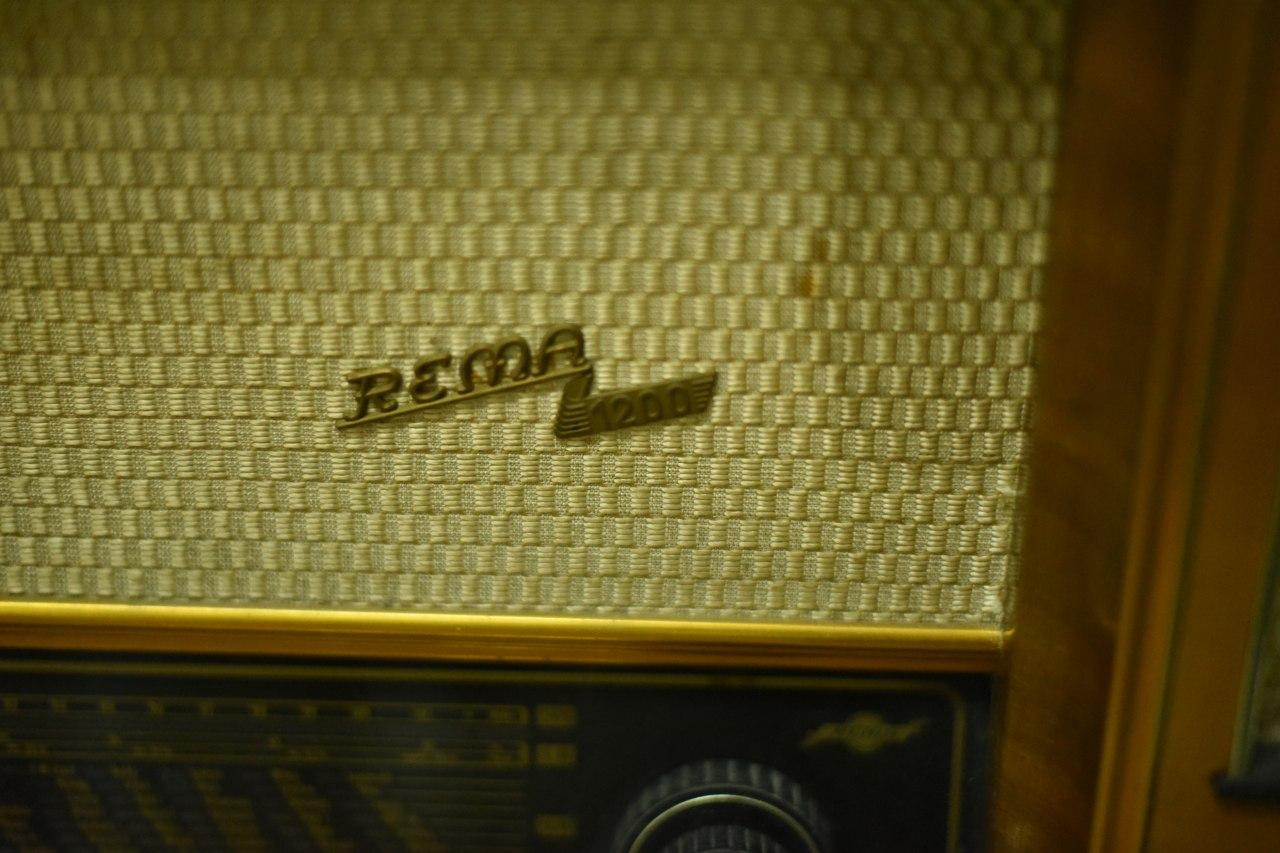 002210  REMA 1200 ヴィンテージ ラジオ