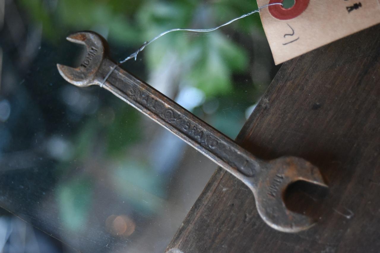 102681 UK ヴィンテージ スパナ ツール 英国