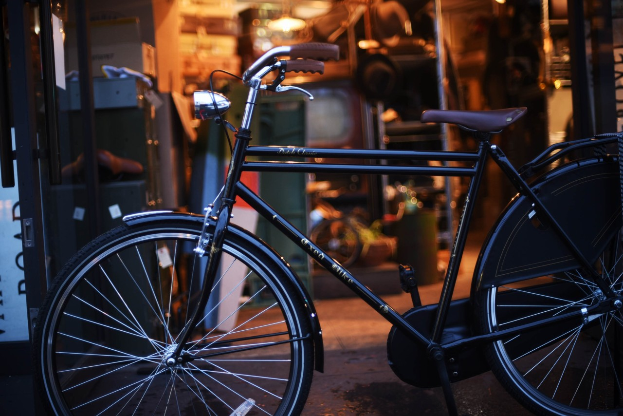 最後の1台!再入荷無 クラシック自転車 新車 Classic Dutch Bicycle オランダ製 101252