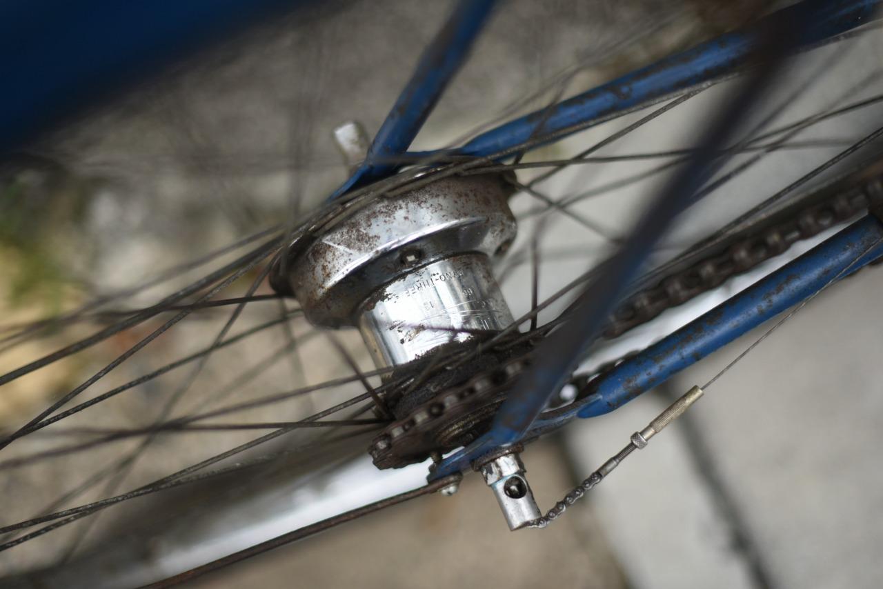 102044 ヴィンテージ 自転車 TRIUMPH トライアンフ エンブレムなし 注意事項あり