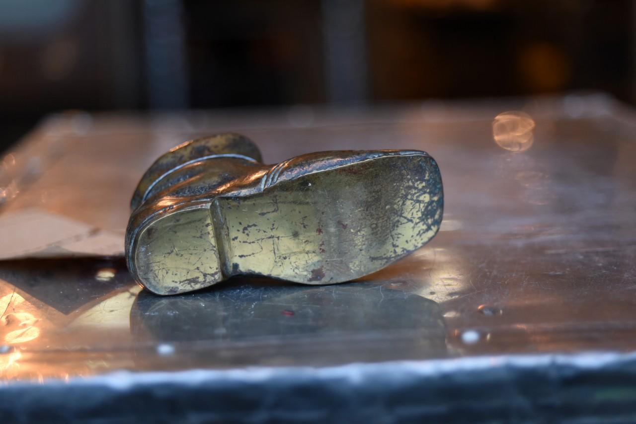 真鍮 ブラス 鋳造 シューズ 101178