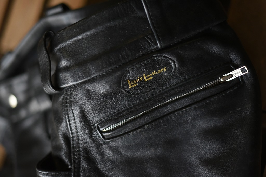 105734 AVIAKIT 「Lewis Leathers」 ルイスレザー レザーパンツ サーキット MADE IN ENGLAND 英国