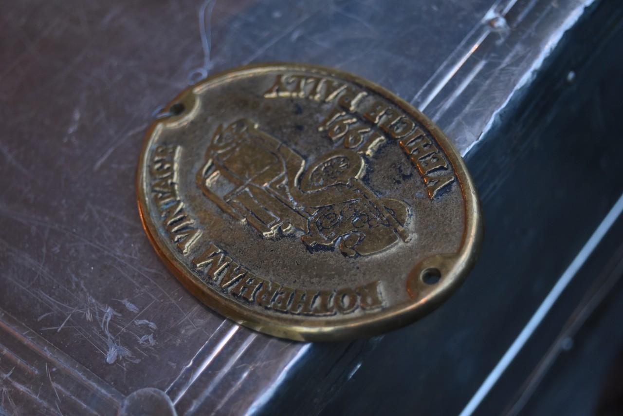 真鍮 ブラス ROTHERHAM VINTAGE 1991 VEHICLE RALLY 英国 101537