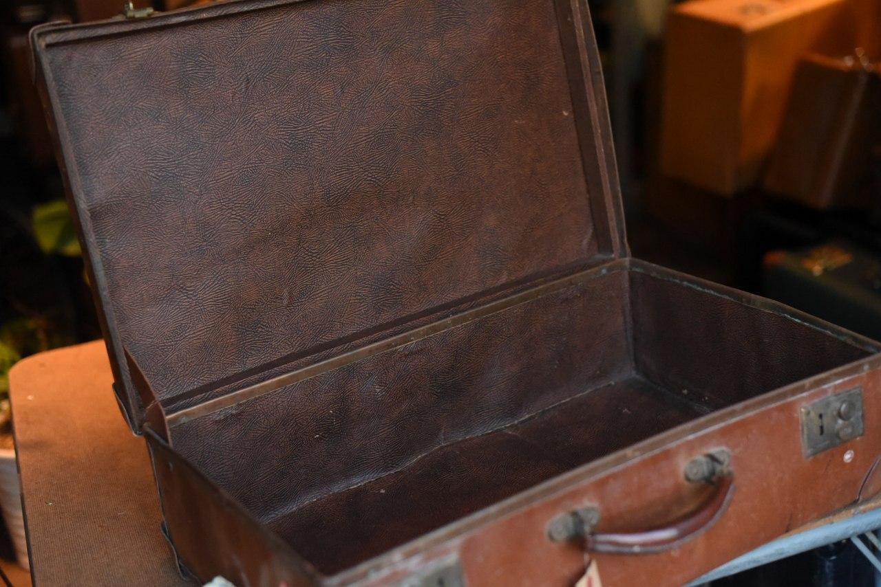101777 UK 「ANTLER」 ヴィンテージ トランクケース 革鞄