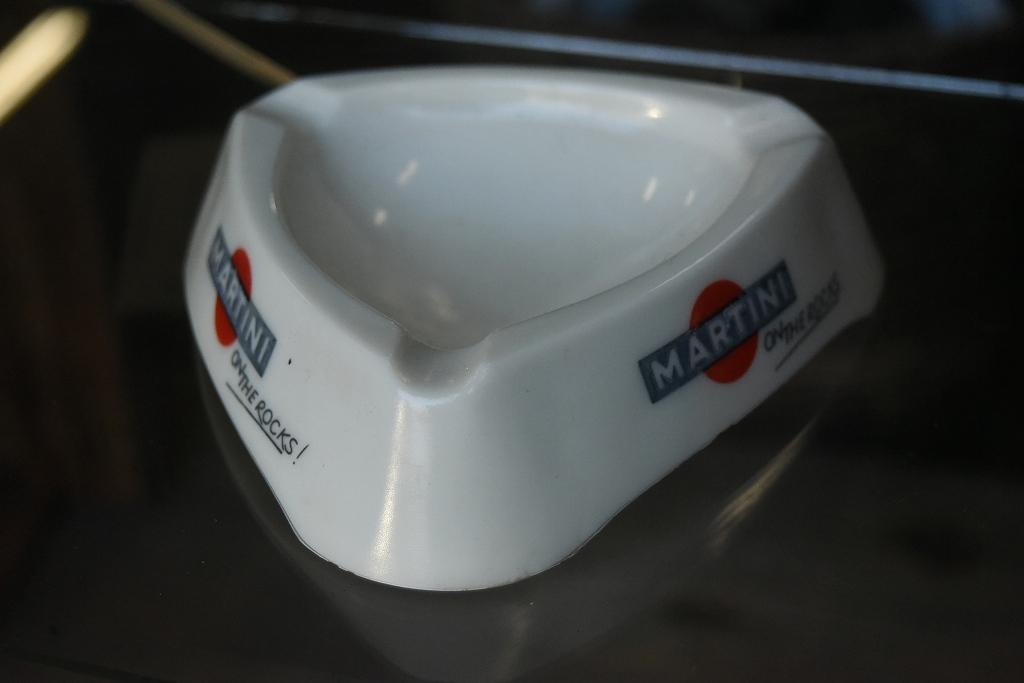 103981 ヴィンテージ MARTINI アッシュトレイ 灰皿 マルティニ