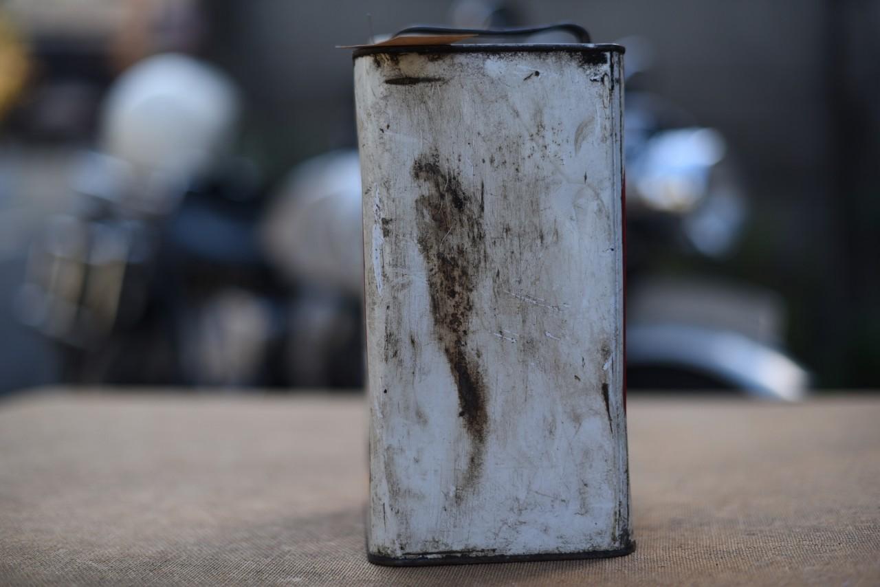 ヴィンテージ SHELL オイル缶 101085