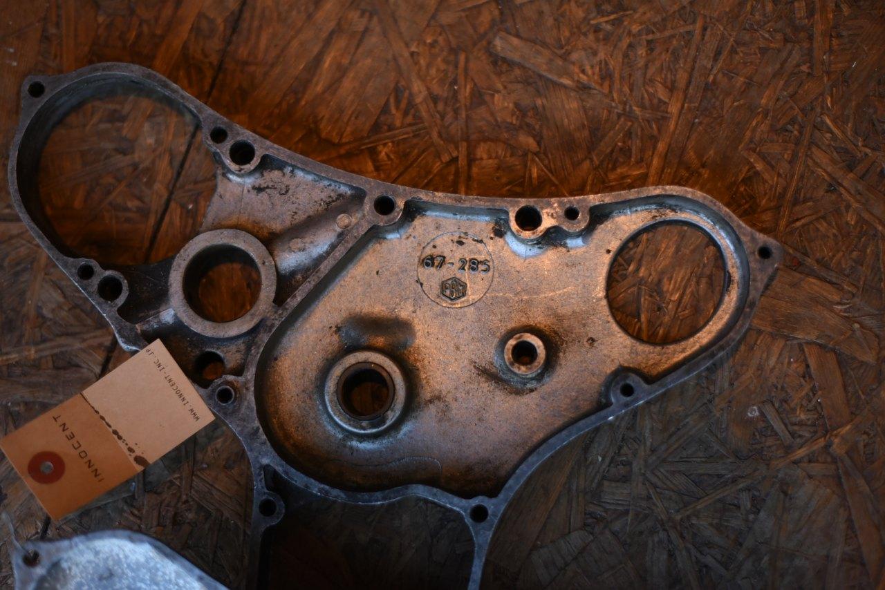 102223 ヴィンテージ BSA エンジンカバー
