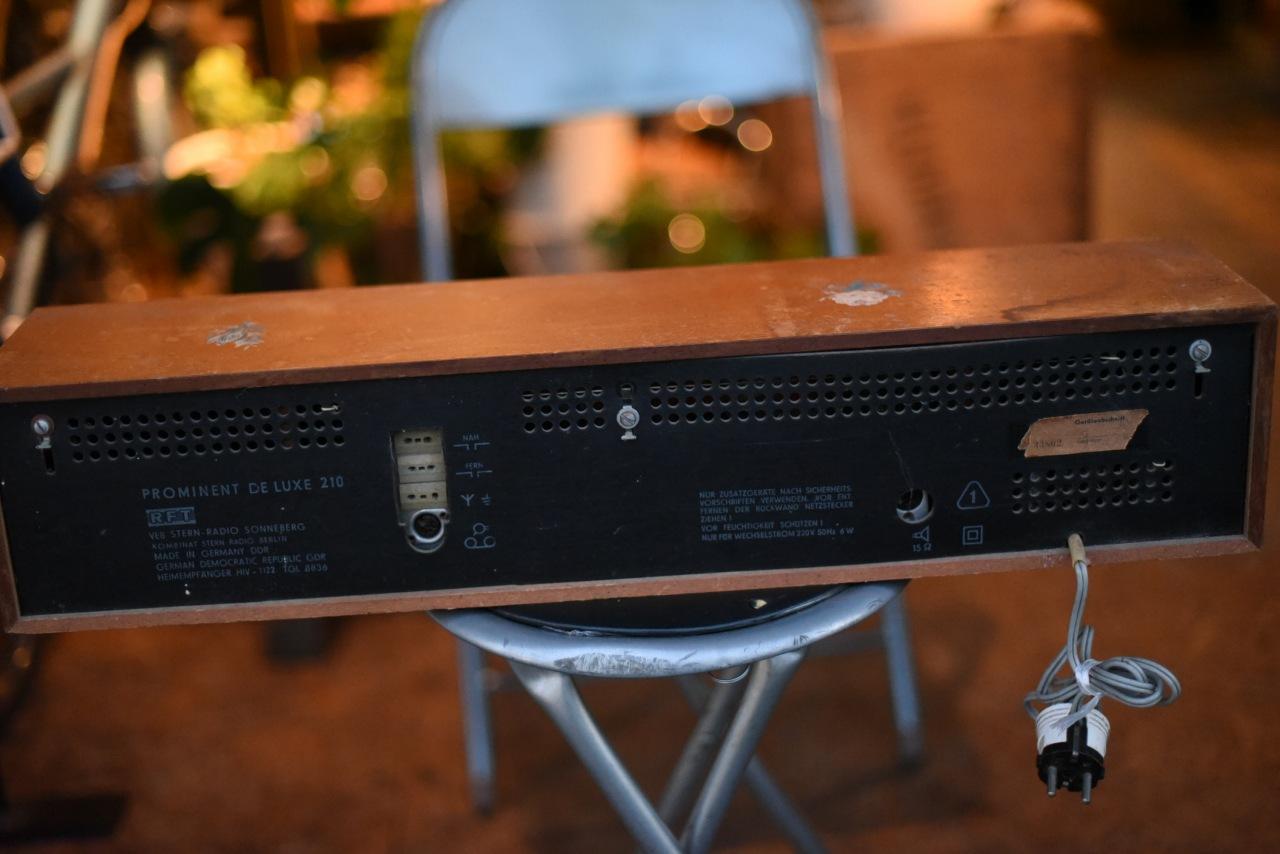 001095 ドイツ製 RFT  ヴィンテージ ラジオ
