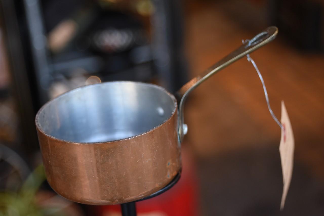 真鍮 ブラス カッパー ミニパン MADE in France 101638