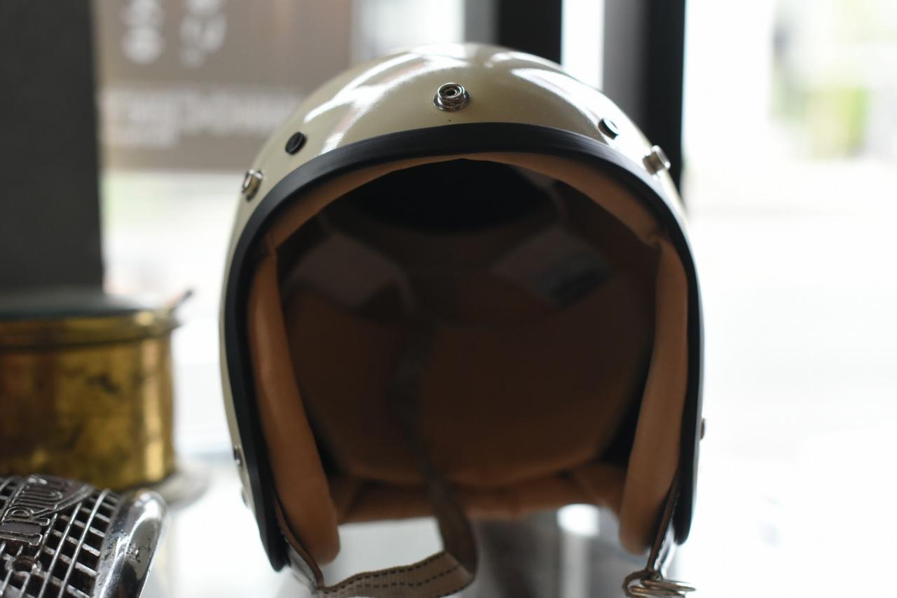 2021年 再入荷分 VINTAGE STYLE ヴィンテージスタイル ジェットヘルメット ファイバーシェル本革製 MADE IN TOKYO