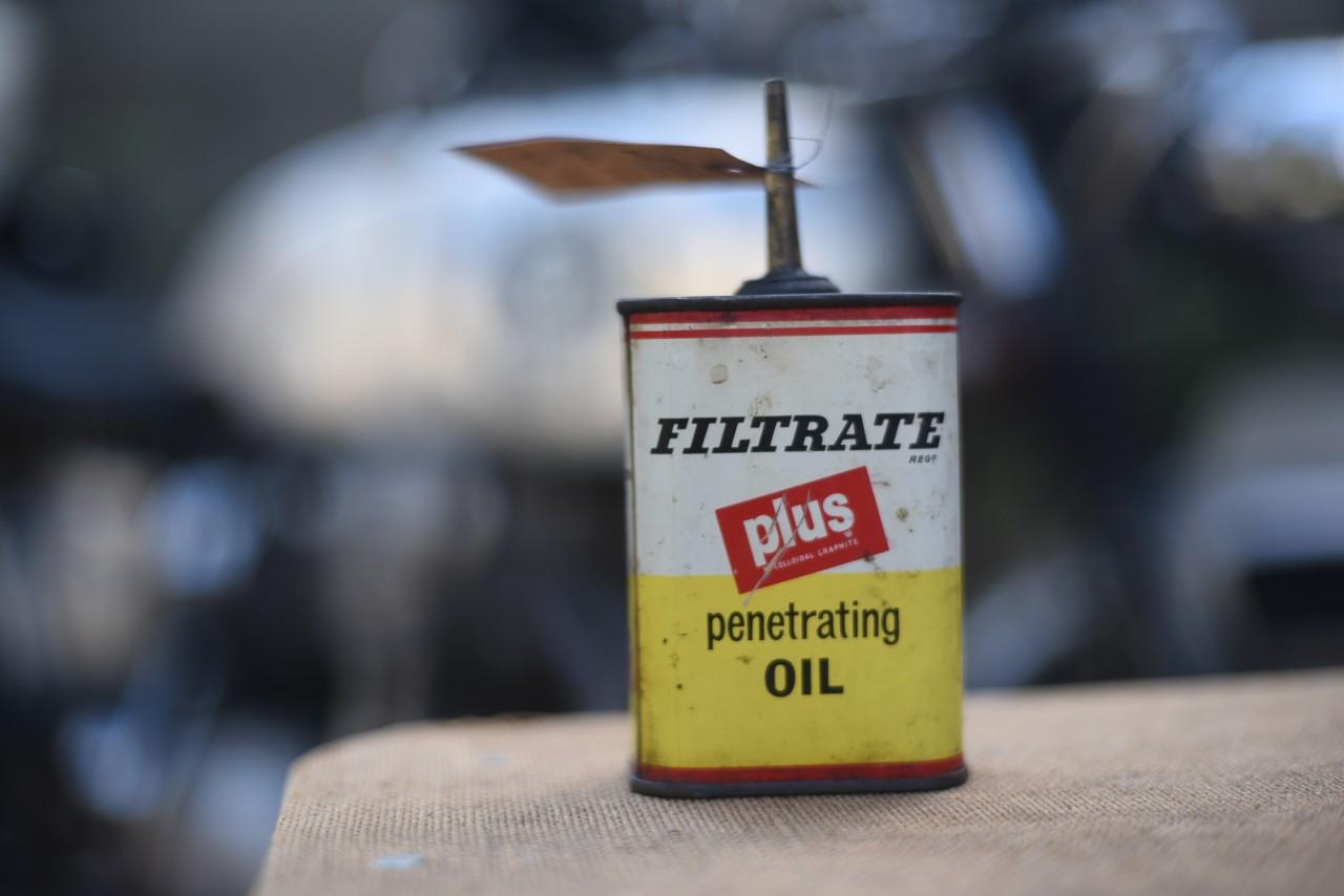 ヴィンテージ FOLTRATE  plus オイル缶 101090