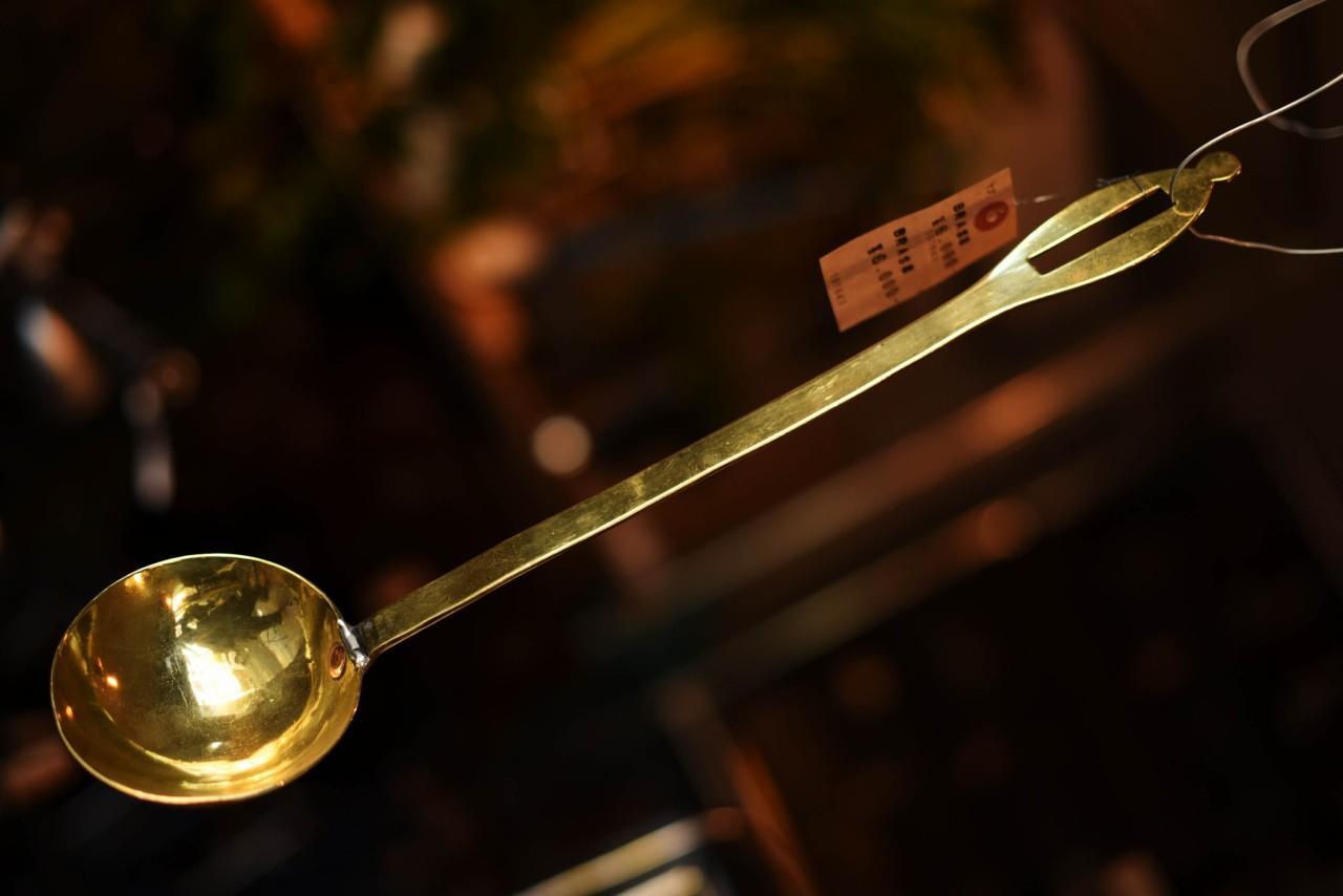 真鍮 ブラス レードル 英国 101643