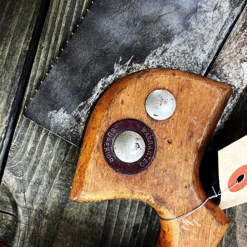 105555 UK ヴィンテージ ハンドソー のこぎり 鋸 ツール 英国 MADE IN ENGLAND
