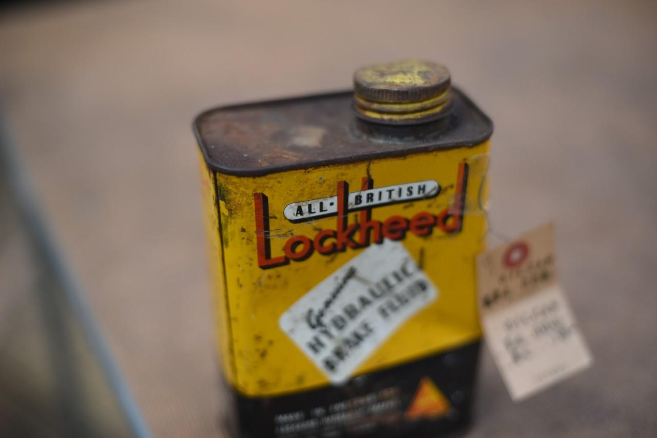 ヴィンテージ ALL BRITISH LOCKHEED ヴィンテージ缶 101092